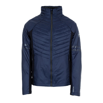 COURSE LIGHT - Doudoune hybride Homme blue/black