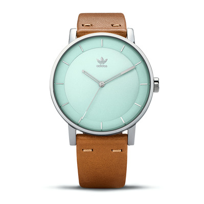DISTRICT L1 - Montre quartz Homme silver/ash green/tan