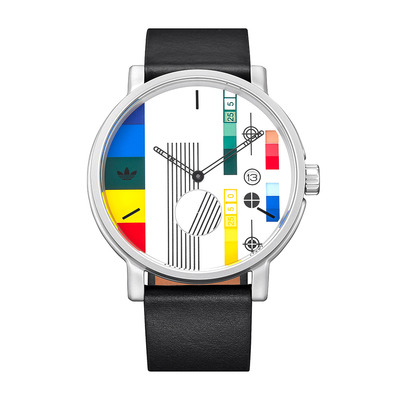 DISTRICT LX2 - Montre quartz Homme silver/multi