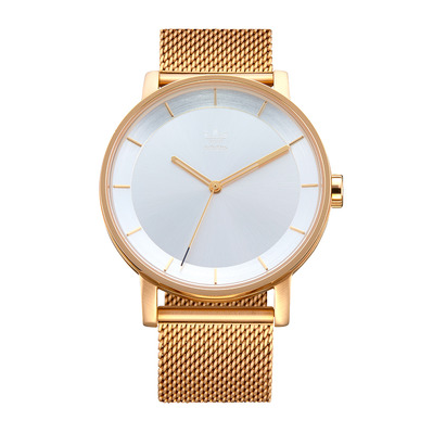 DISTRICT M1 - Montre quartz Homme gold/silver sunray