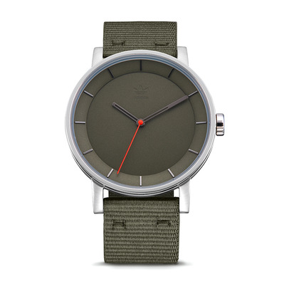 DISTRICT W1 - Montre quartz Homme silver/raw khaki
