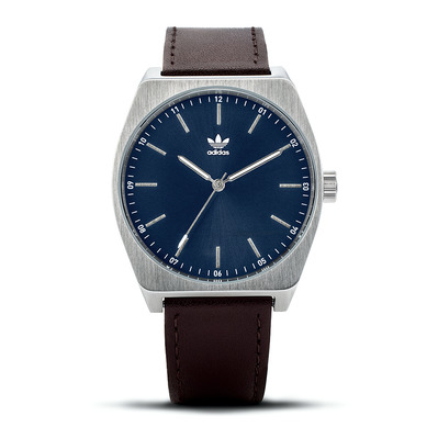 PROCESS L1 - Montre quartz Homme silver/navy sunray/dark brown