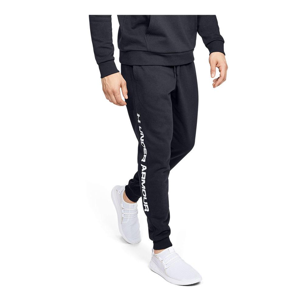 amenaza metodología imán  UNDER ARMOUR Under Armour RIVAL FLEECE WORDMARK - Pantalón de chándal  hombre black - Private Sport Shop