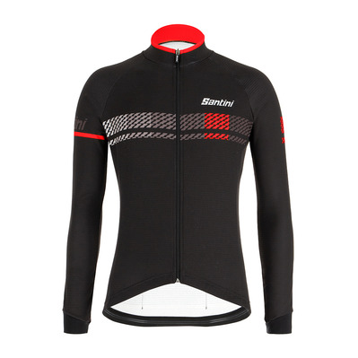 SANTINI - SERA DESIGN - Maillot Homme black/red