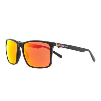 RED BULL SPECT - BOW - Lunettes de soleil polarisées Homme black/brown red mirror