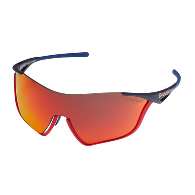 RED BULL - FLOW - Gafas de sol blue/smoke red mirror + Lentes suplementarias