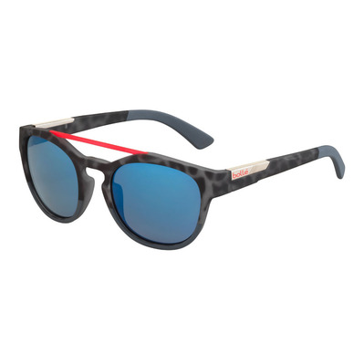 BOLLE - BOXTON RUBBER BLACK TORTOISE RED BROWN BLUE Unisexe Noir