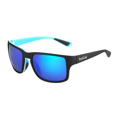 BOLLE - SLATE MATTE BLACK BLUE HD POLARIZED OFFSHORE BLUE Unisexe Noir