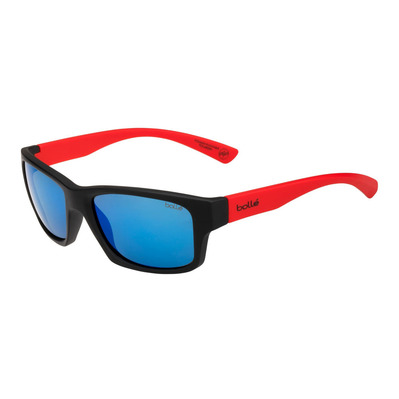BOLLE - HOLMAN FLOATABLE MATTE BLACK RED HD POLARIZED OFFSHORE BLUE Unisexe Noir