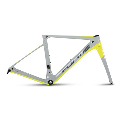 FORME BIKES - FLASH - Kit cadre route grey/yellow