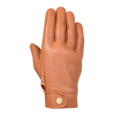 EXKLUSIV - CHIC - Gloves - cognac