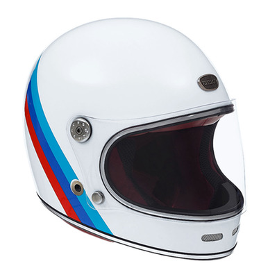 EXKLUSIV - DUKE NATION - Full Face Helmet - white