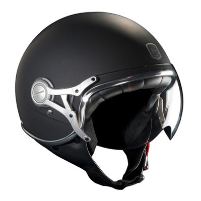 EXKLUSIV - FREEWAY - Jet Helmet - matt black