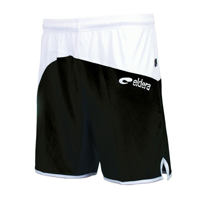 ELDERA - MONDIAL - Shorts - black/white