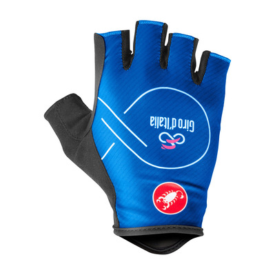 CASTELLI - GIRO D'ITALIA - Fingerless Gloves - Men's - blue