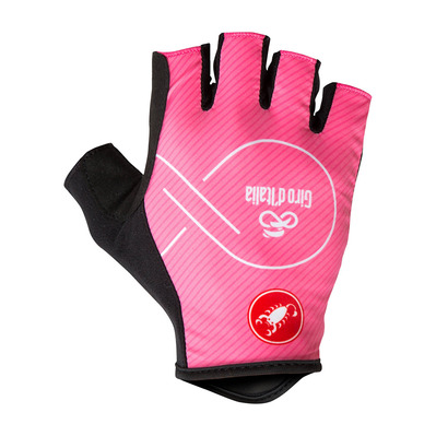 CASTELLI - GIRO D'ITALIA - Fingerless Gloves - Men's - rosa giro