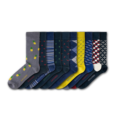 BLACK & PARKER - WESTBURY COURT - Socks x10 mixed