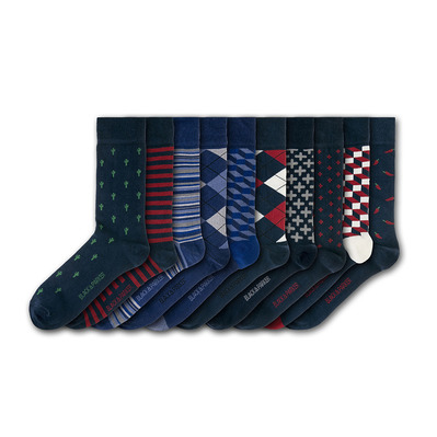 BLACK & PARKER - HAMPTON COURT - Socks x10 mixed