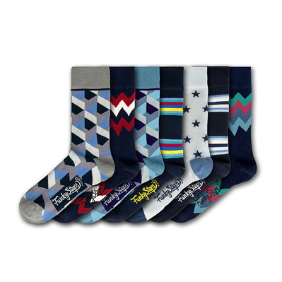 FUNKY STEPS - FSA311 - Socks x7 Men's - mixed