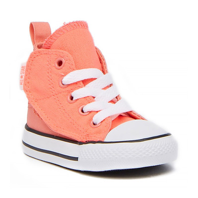 CONVERSE - ALL STAR SIMPLE STEP HI TOP - Shoes - Kid's - hot punch/white/sunblush grade B