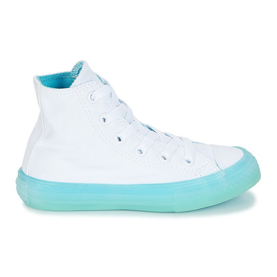 CONVERSE - CHUCK TAYLOR ALL STAR HIGH - Shoes - Junior - white/bleached