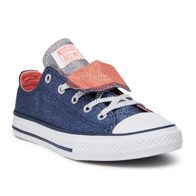 CONVERSE - DOUBLE TONGUE - Shoes - Junior - midnight navy/sunblush/white grade B