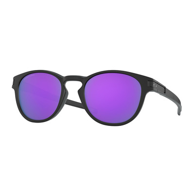 OAKLEY - LATCH - Occhiali da sole matt black/prizm violet