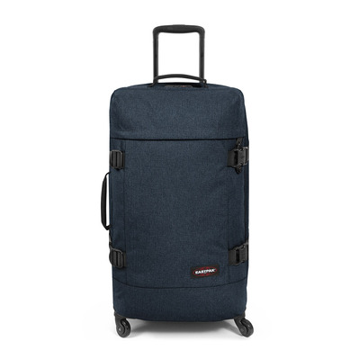 EASTPAK - TRANS4 M TSA 68L - Valise triple denim