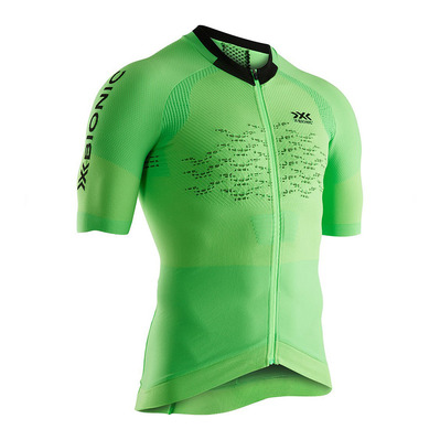 X-BIONIC - THE TRICK G2 BIKE ZIP SS M - Jersey - Men's - amazonas green/opal black