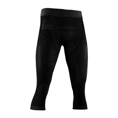 X-BIONIC - APANI MERINO P 3/4 M - 3/4 Leggings - Men's - black/black