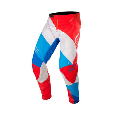 alpinestars - TECHSTAR VENOM - Pants - Men's - red/white/blue