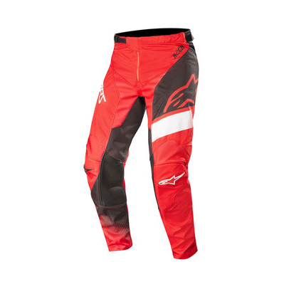alpinestars - RACER SUPERMATIC - Pants - Men's - red/black/white