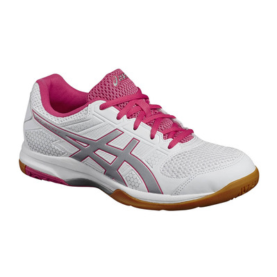ASICS - GEL-ROCKET 8 - Volleyball Shoes - Women's - white/rouge red/silver