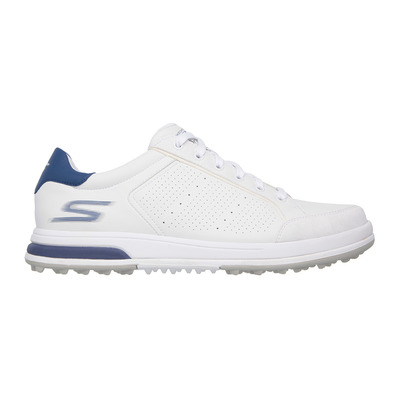 SKECHERS - GO GOLF DRIVE 2 - Shoes - Men's - white synthetic/navy trim