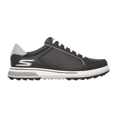 SKECHERS - GO GOLF DRIVE 2 - Shoes - Men's - black synthetic/white trim