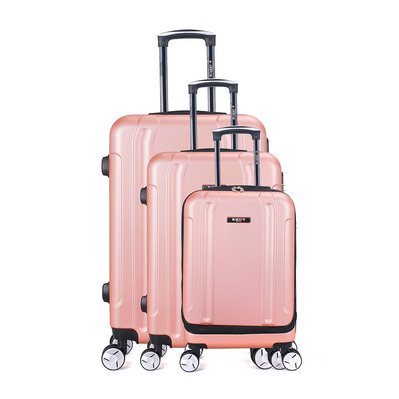 BLUESTAR - BALTIMORE 35L/67L/100L - Valises x3 golden pink
