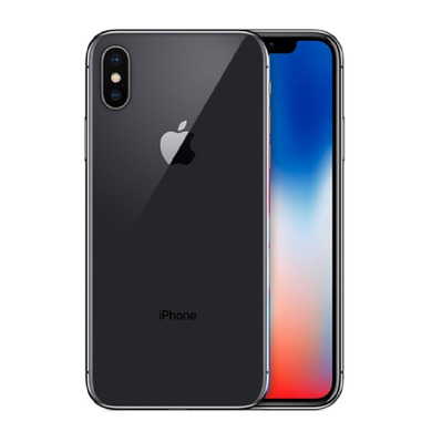 APPLE - iPhone X 64Go - Smartphone sideral grey - Grade A+