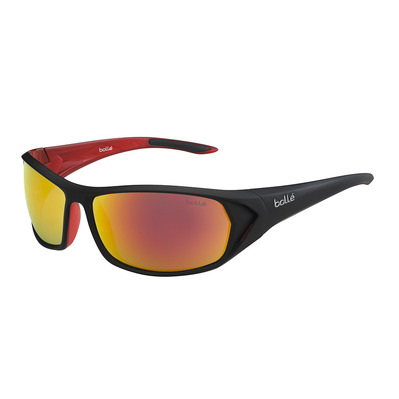 BOLLE - BLACKTAIL - Sunglasses - shiny anthracite/tns fire