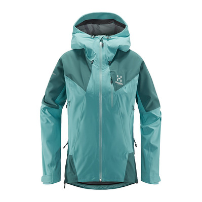 HAGLÖFS - Haglöfs LIM TOURING PROOF - Jacket - Women's - glacier green/willow green