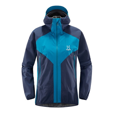 HAGLÖFS - Haglöfs LIM PROOF MULTI - Jacket - Women's - mosaic blue/tarn blue