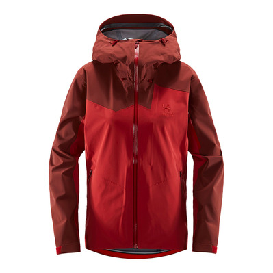 HAGLÖFS - Haglöfs STIPE Q - Jacket - Women's - brick red/maroon red