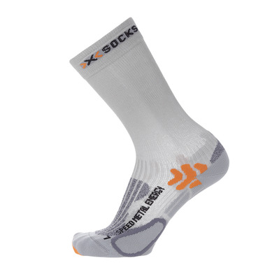 XSOCKS - X Socks SPEED METAL ENERGIZER - Socks - white/silver