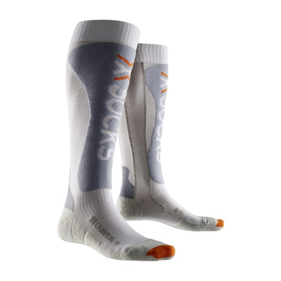 XSOCKS - X Socks SKI CASHMERE - Socks - grey/white