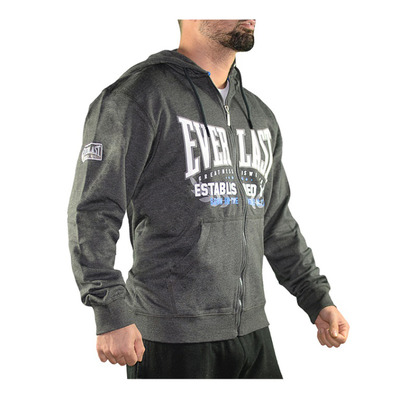 EVERLAST - HERITAGE - Sweatshirt - Men's - charcoal