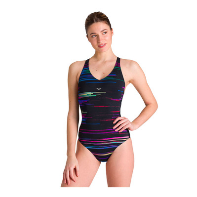 ARENA - ANITA CRADLE BACK - Costume da bagno intero Donna black multi/black