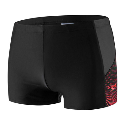 SPEEDO - DIVE - Boxer da bagno Uomo black/grey/red