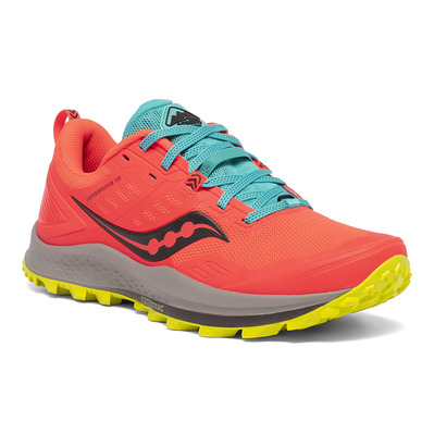 SAUCONY - PEREGRINE 10 - Chaussures trail Femme vizired/citron