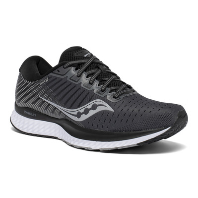 SAUCONY - GUIDE 13 Homme BLACK/WHITE