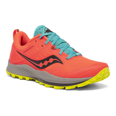 SAUCONY - PEREGRINE 10 - Chaussures trail Homme vizired/citron