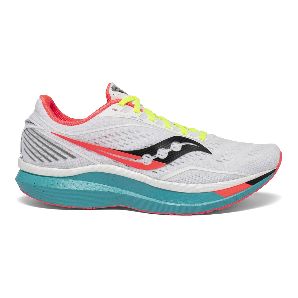 SAUCONY - Saucony ENDORPHIN SPEED - Zapatillas de running hombre white mutant